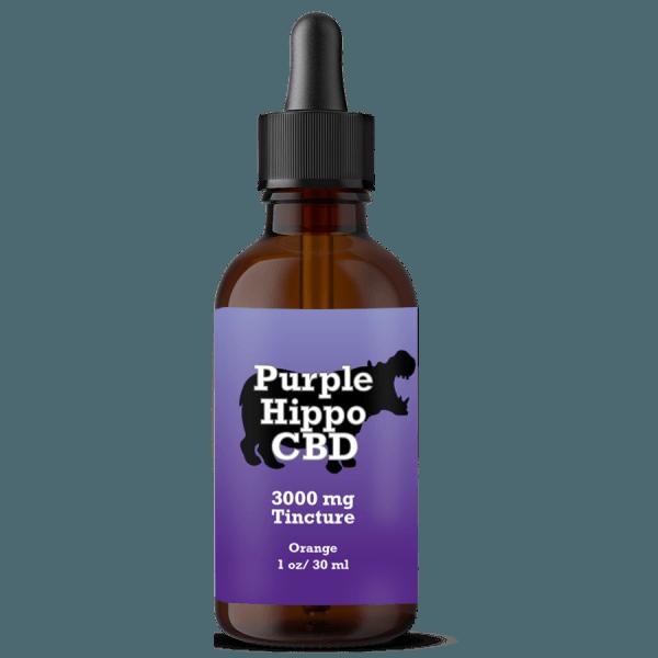 3000mg full spectrum cbd purple hippo